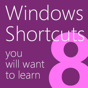 Essential Windows 8 Shortcut Keys
