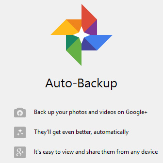 Free Online Photo Backup with Google Plus