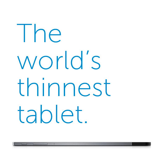 Dell Venue 8 7000 Series Tablet – World's Thinnest Tablet