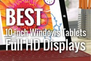 Best 10-inch Windows Tablets with Full HD Display