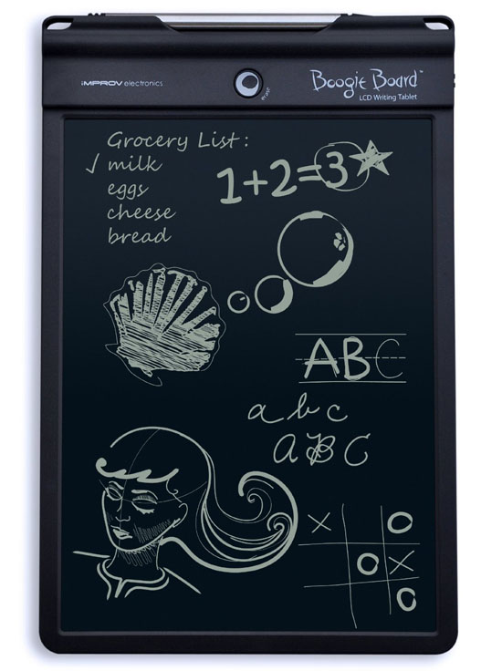 LCD Writing Tablet e-Writer Drawing Memo Message Boogie Board 4.5 Inch