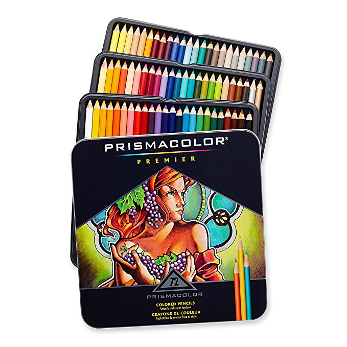 20 Full Size Colour Pencils Bright Crayon Drawing Sketching Adult Children