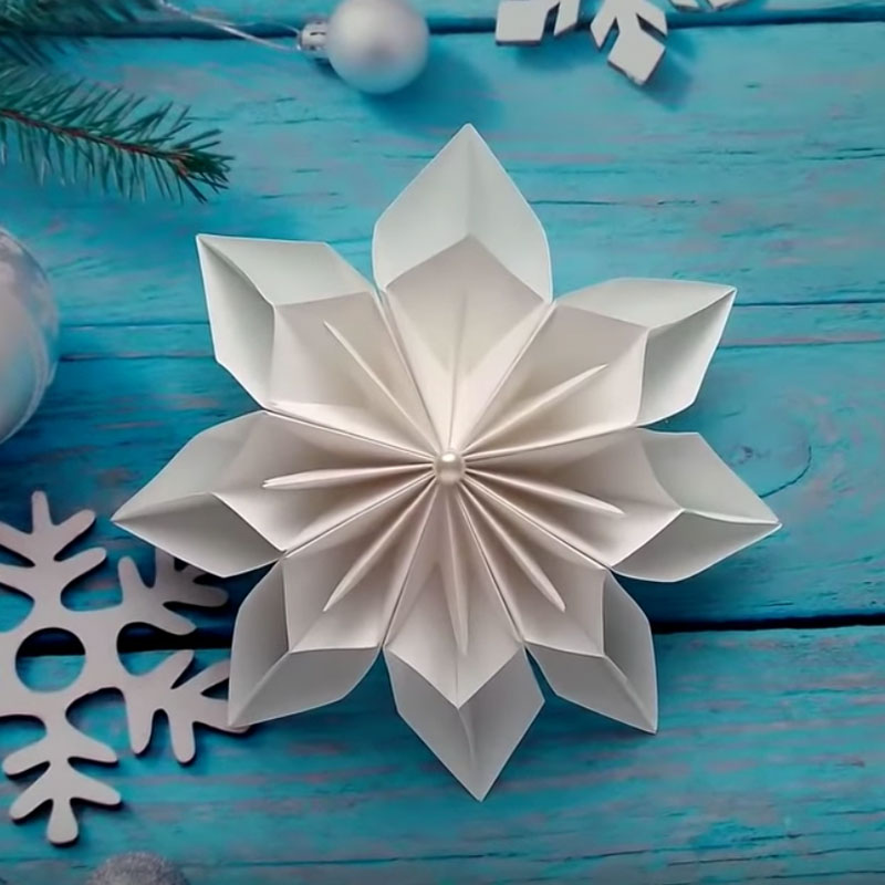 Christmas Ornaments with Paper DIY Christmas Decorations How to ... | 800x800